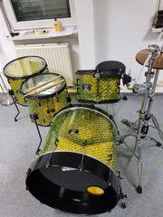 Drumset - Unikat Shellset Acryl 24