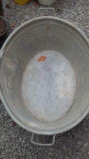 Verkaufe alte Zinkwanne 90 Liter