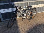 Kreidler Kinder Jugend-Fahrrad weiss-schwarz