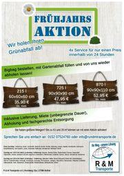 Grüngut BigBags einmalig in Rotenburg