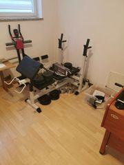 Fitness Gorilla Hantelbank und Gewichte