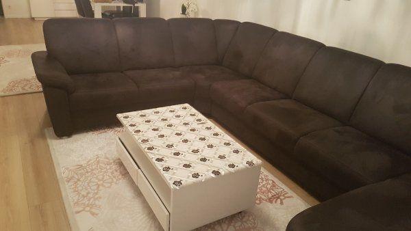 Sofa und 3 Sitzer mit