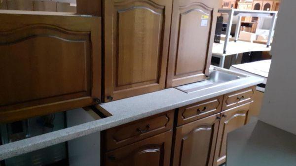 Küchenmöbel aus Eiche 280 Lang -