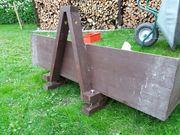 Holzkiste für Traktor