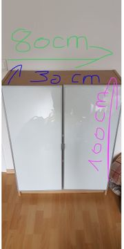 Bücherregal Sideboard mit Glastüren IKEA