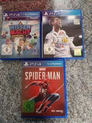 Ps4 Playstation 4 Spiele Spider-Man - Fifa18