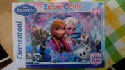Glitter Puzzle Super Color die Eiskönigin