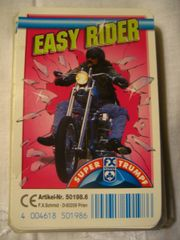 Kartenspiel Easy Rider Motorräder Quartett