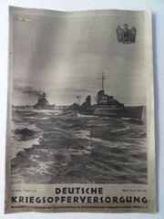 Deutsche Kriegsopferversorgung April Mai 1942