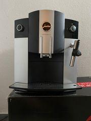 Kaffeevollautomat Jura C5 Platin frischer