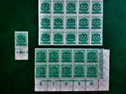 Briefmarken - Block Deutsches Reich Inflation