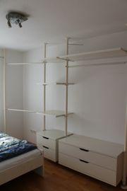 Begehbarer Kleiderschrank Ikea weiß