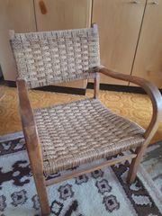 Echtholz Stuhl -original aus Omas