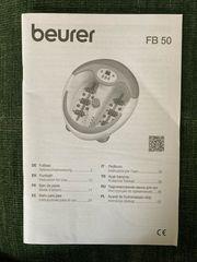 Beurer Fußsprudelbad FB50 weiß