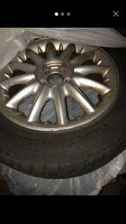 Chrysler Felgen mit Winterreifen