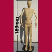 Modellpuppe Gliederpupper Malerpuppe 180 cm