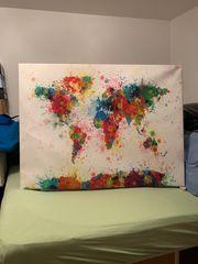 Die Welt auf Farbe