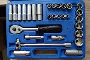 Steckschlüsselsatz Ratschensatz Werkzeugset Werkzeugsatz 31-teilig