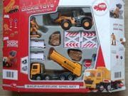 Dickie Toys Baufahrzeuge Spielset 3