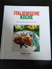 Buch Kochbuch Tupperware Italienische Küche