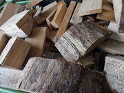 Brennholz Fichte trocken letzter Korb