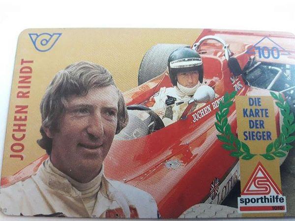 Jochen Rindt Telefonwertkarte