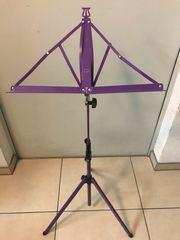 Notenständer violett