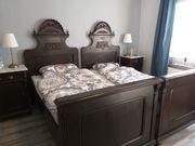 Antikes Doppelbett von 1900