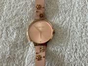 Rose-farbene Armbanduhr von Michael Kors