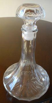 Karaffe mit Glasstöpsel Robustes Glas