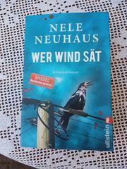 Kriminalroman Wer Wind sät von