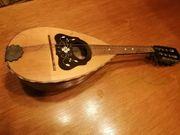 Dekorative Mandoline spielbar