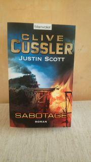 Clive Cussler Sabotage Kriminalroman