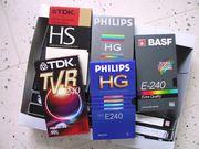 VHS-Video-Kassetten