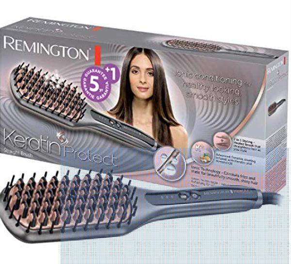Haarglätter Glätteisen Glättbürste Remington CB7480
