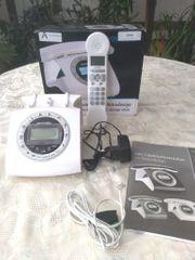 simvalley DECT-Schnurlostelefon im Retrodesign