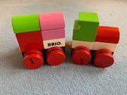 Brio Eisenbahn mit magnetischen Klötzchen
