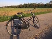 Hollandrad Cityrad Damenfahrrad Schwarz mit