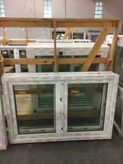 Kunststofffenster 150x100 cm weiß 2flg