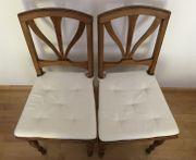 2 Holzstühle ca 100 Jahre