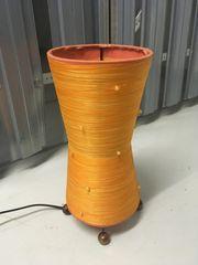 Deko- Nachttischleuchte orange