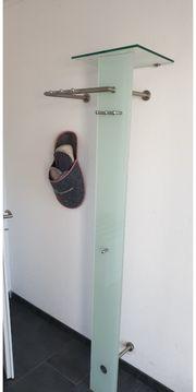 Garderobe mit Glasfront