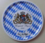 Königreich-Bayern Teller