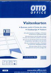 Visitenkarten-Karton zum selbst bedrucken