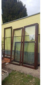 Echtholz Fenster u Terrassen Tür