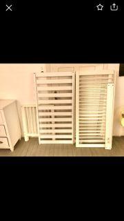 Kinderbett weiß 1 40x70