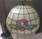 Schöne Vintage Lampe Tiffany Stil