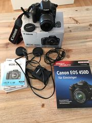 Canon EOS 450D inkl EF-S