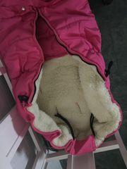 Winterfußsack für kleine Mädchen