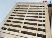 Stabiles Holzbett inkl Lattenrost 1